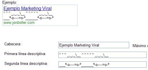 marketing viral adwords
