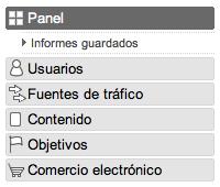 Analytics comercio electronico