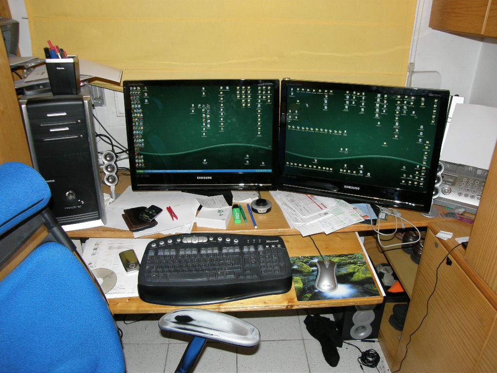 Mi escritorio de casa