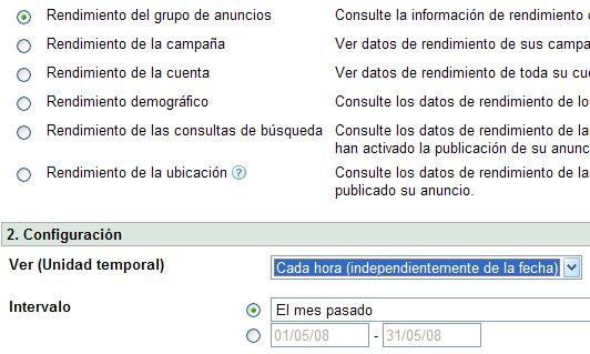 Adwords crear informes