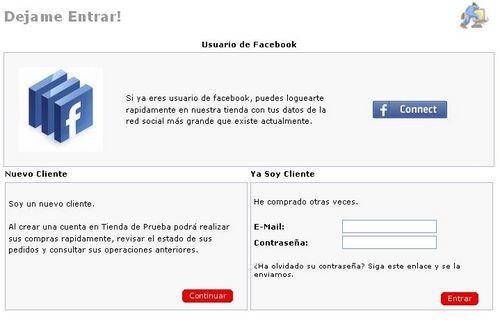 facebook oscommerce